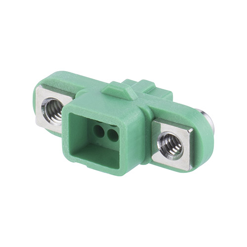 G125-2240696F2 - 3+3 Pos. Female DIL Cable Housing, Screw-Lok Reverse Fix