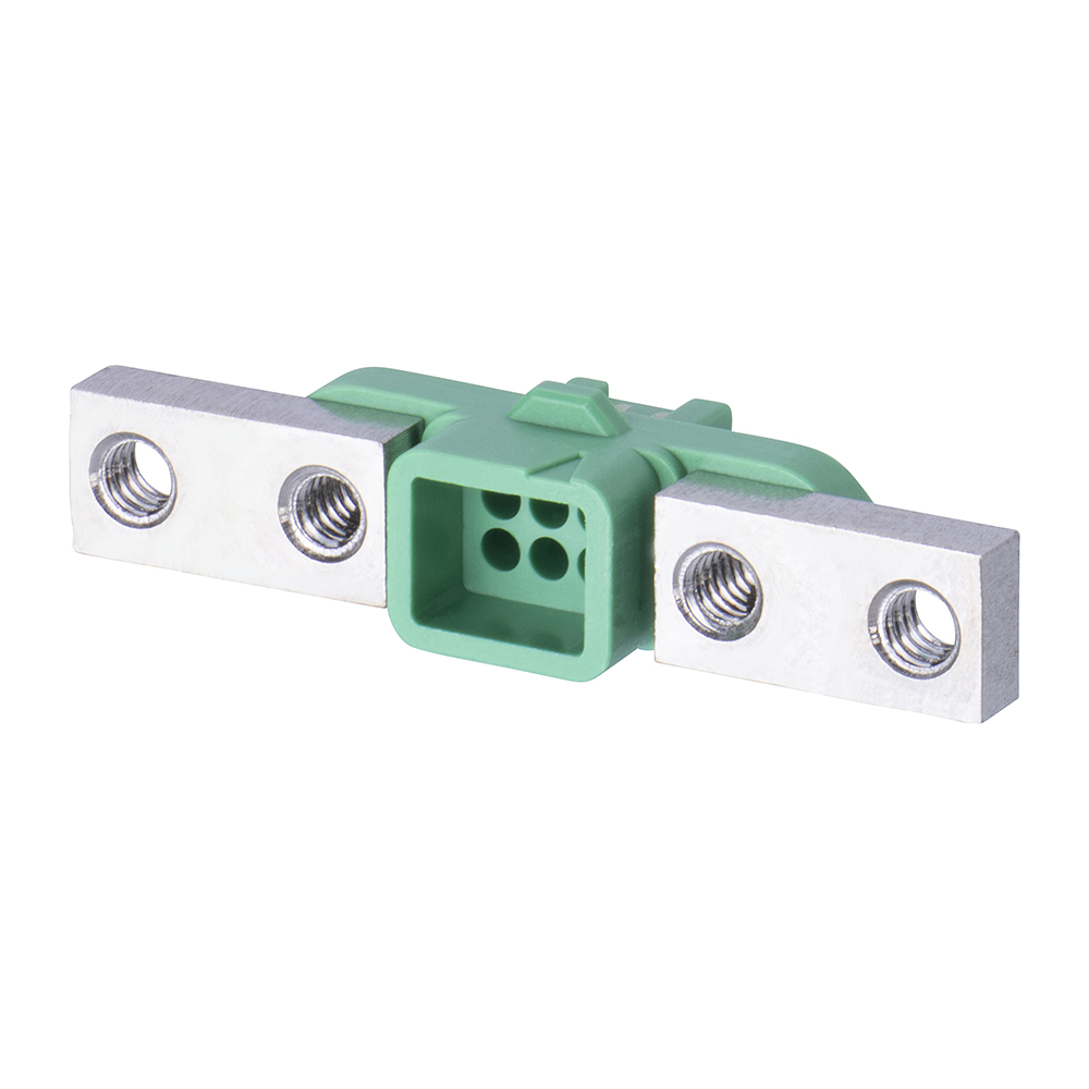 G125-2240696F5 - 3+3 Pos. Female DIL Cable Housing, Screw-Lok Reverse Fix Panel Mount
