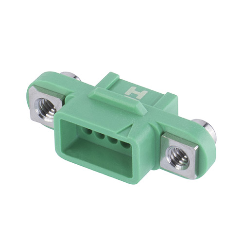 G125-2241096F2 - 5+5 Pos. Female DIL Cable Housing, Screw-Lok Reverse Fix