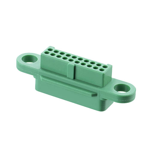 G125-224209600 - 10+10 Pos. Female DIL Cable Housing, no Screw-Lok