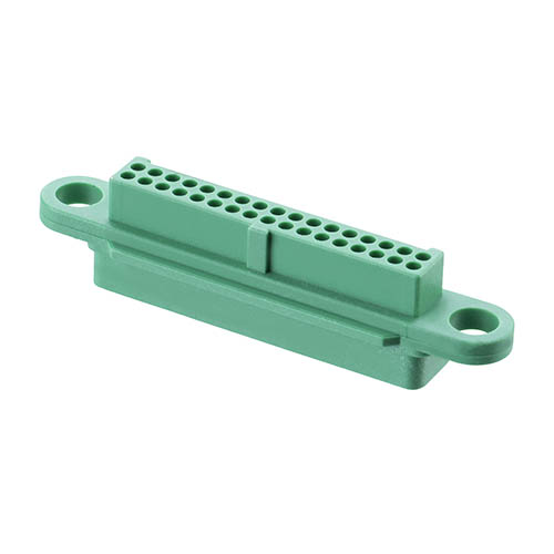 G125-224349600 - 17+17 Pos. Female DIL Cable Housing, no Screw-Lok