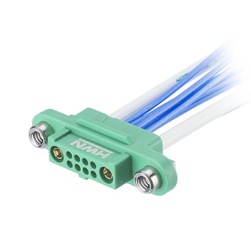 G125-22496F2-01-08-01 - 8+2 Pos. Female Cable Housing, Screw-Lok Reverse Fix