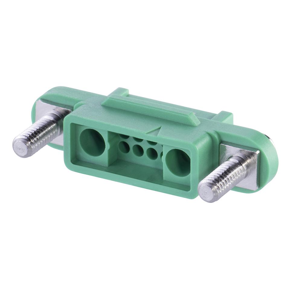 G125-22496F3-01-08-01 - 8+2 Pos. Female Cable Housing, Screw-Lok Reverse Fix Panel Mount