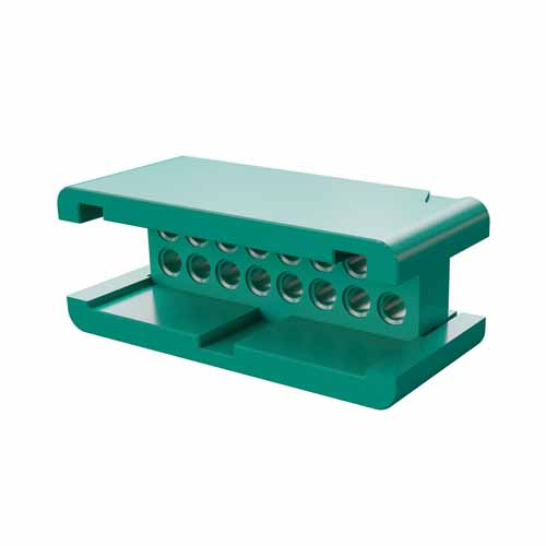 G125-3041696L0 - 8+8 Pos. Male DIL Cable Housing, no Latches