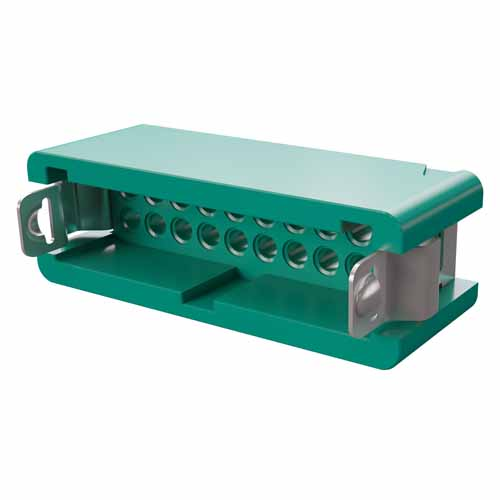 G125-3042096L4 - 10+10 Pos. Male DIL Cable Housing, Latches