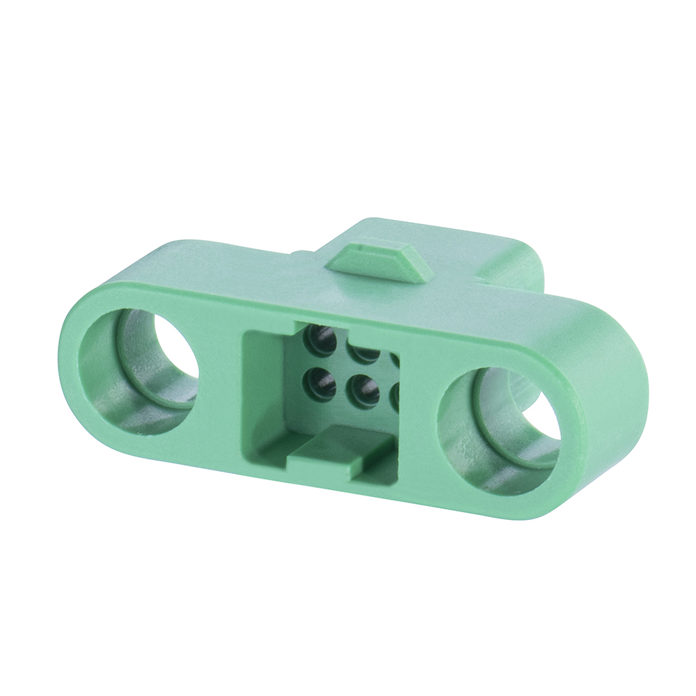 G125-324069600 - 3+3 Pos. Male DIL Cable Housing, no Screw-Lok