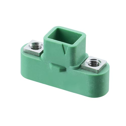 G125-3240696M1 - 3+3 Pos. Male DIL Cable Housing, Screw-Lok
