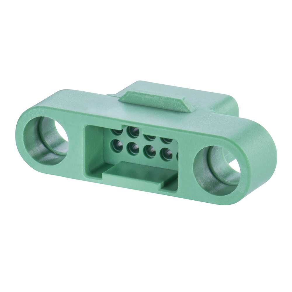 G125-324109600 - 5+5 Pos. Male DIL Cable Housing, no Screw-Lok