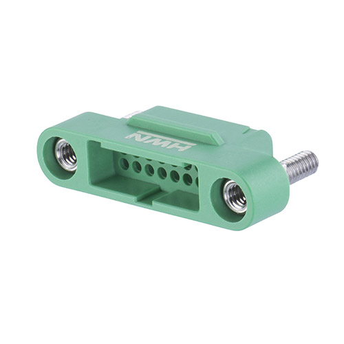 G125-3241696M2 - 8+8 Pos. Male DIL Cable Housing, Screw-Lok Panel Mount