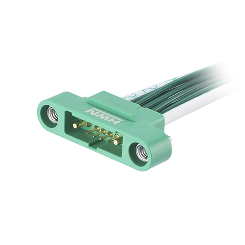 G125-32496M1-01-08-01 - 8+2 Pos. Male Cable Housing, Screw-Lok