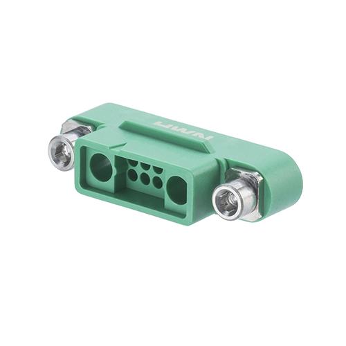 G125-32496M3-01-08-01 - 8+2 Pos. Male Cable Housing, Screw-Lok Reverse Fix