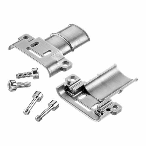 G125-96412F1 - 6+6 Pos. Cable Metal Backshell for Gecko-SL, Screw-Lok