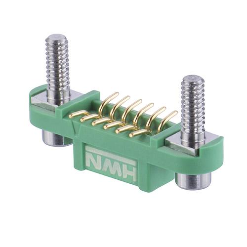 G125-FS11205F3P - 6+6 Pos. Female DIL Vertical SMT Conn. Screw-Lok Reverse Fix Board Mount