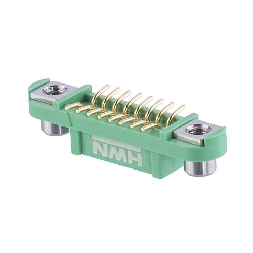 G125-FS11605F2R - 8+8 Pos. Female DIL Vertical SMT Conn. Screw-Lok Reverse Fix (T+R)