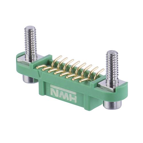 G125-FS11605F3P - 8+8 Pos. Female DIL Vertical SMT Conn. Screw-Lok Reverse Fix Board Mount