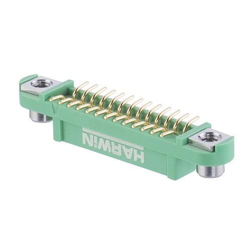 G125-FS12605F2P - 13+13 Pos. Female DIL Vertical SMT Conn. Screw-Lok Reverse Fix