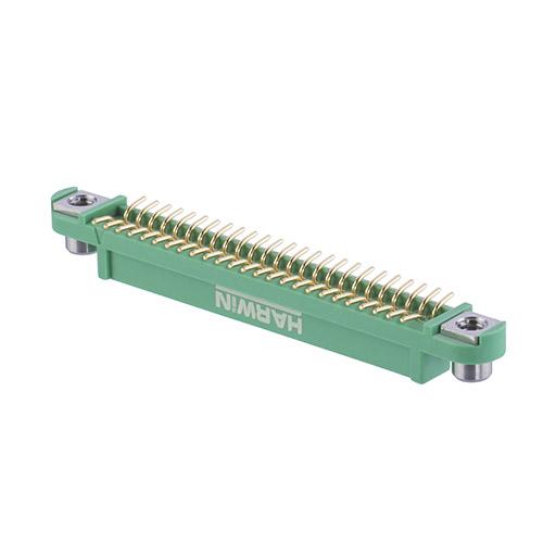 G125-FS15005F2P - 25+25 Pos. Female DIL Vertical SMT Conn. Screw-Lok Reverse Fix