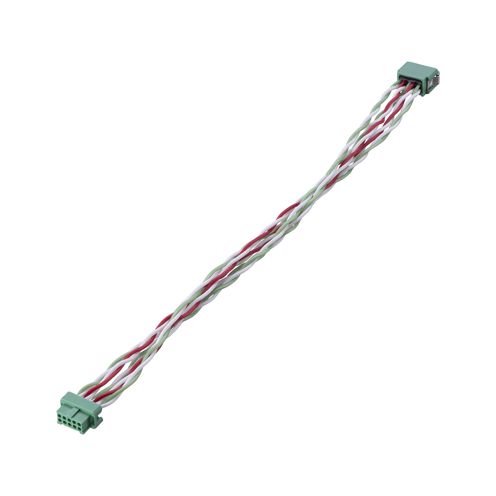 G125-MD25005L4-XXXXF - 25+25 Pos. Male DIL 28AWG Cable Assembly, twisted pair Female 2nd end, Latches
