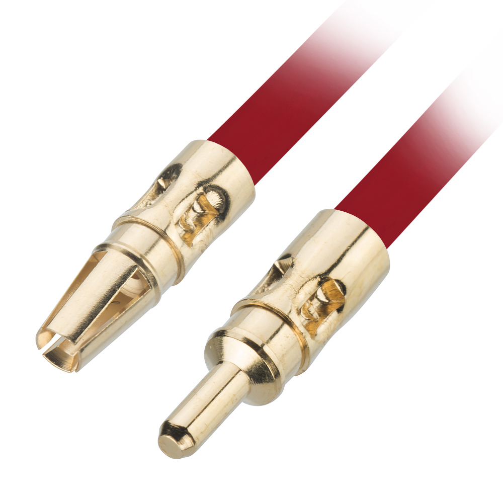 G125-MP10150M99 - Male Power Contact with 18AWG wire, 150mm, double-end