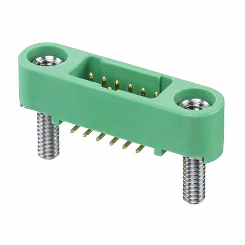 G125-MS10605M2P - Gecko Screw-Lok Male Vertical DIL Surface Mount Connector
