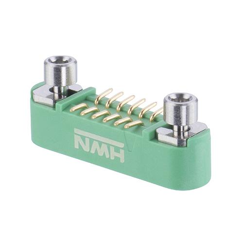 G125-MS11205M3R - 6+6 Pos. Male DIL Vertical SMT Conn. Screw-Lok Reverse Fix (T+R)