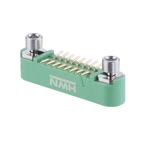G125-MS11605M3P - 8+8 Pos. Male DIL Vertical SMT Conn. Screw-Lok Reverse Fix