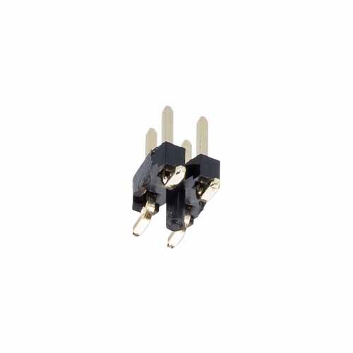 M22-5300205 - 2+2 Pos. Male DIL Vertical SMT Conn.