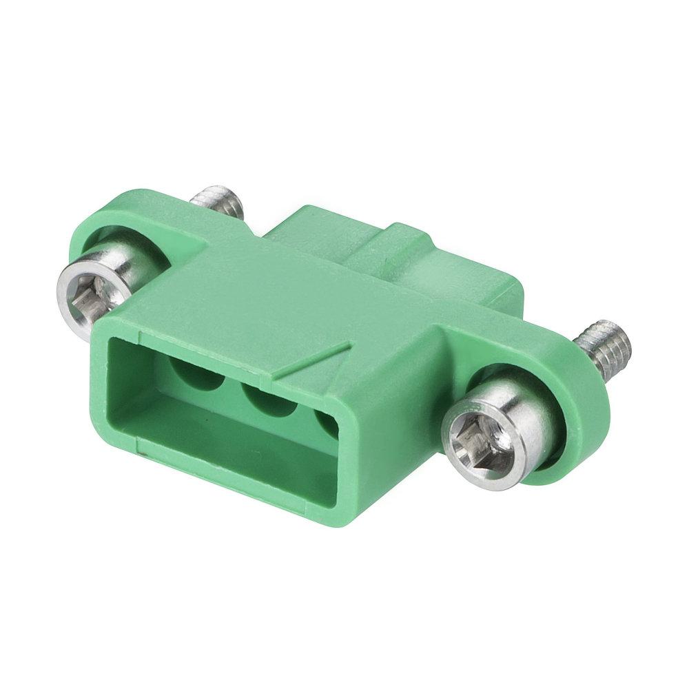 M300-2250396F2 - 3 Pos. Female SIL Cable Housing, Jackscrews