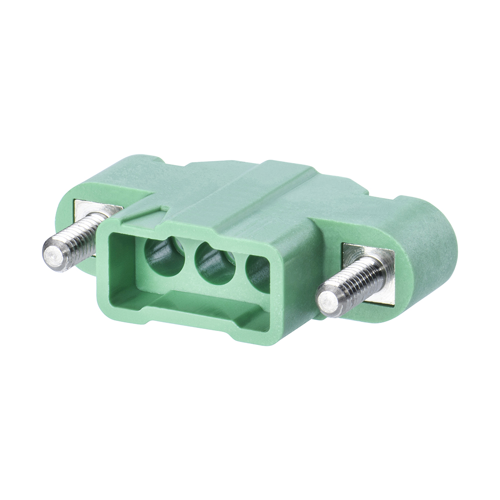 M300-3250396M2 - 3 Pos. Male SIL Cable Housing, Jackscrews