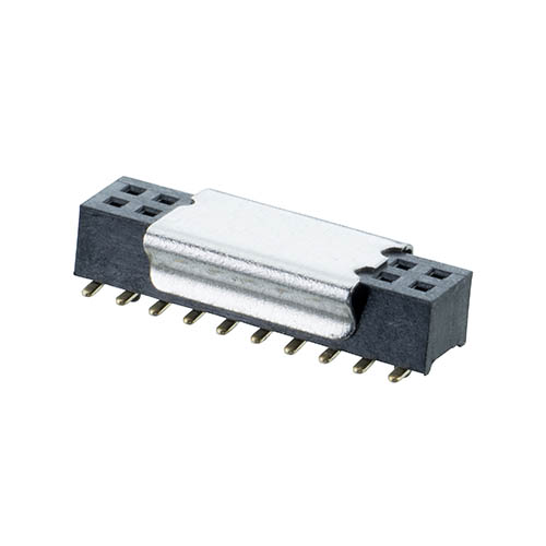 M40-3101045R - 10+10 Pos. Female DIL Vertical SMT Conn. (T+R)