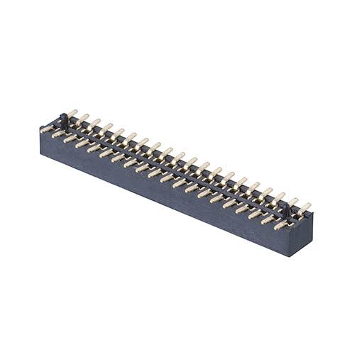 M40-3102045R - 20+20 Pos. Female DIL Vertical SMT Conn. (T+R)