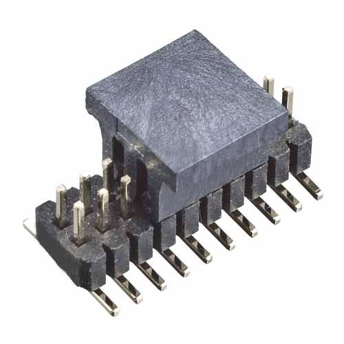 M40-3201045R - 10+10 Pos. Male DIL Vertical SMT Conn. (T+R)