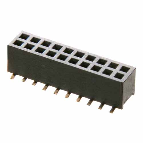M50-3120845 - 8+8 Pos. Female DIL Vertical SMT Conn.