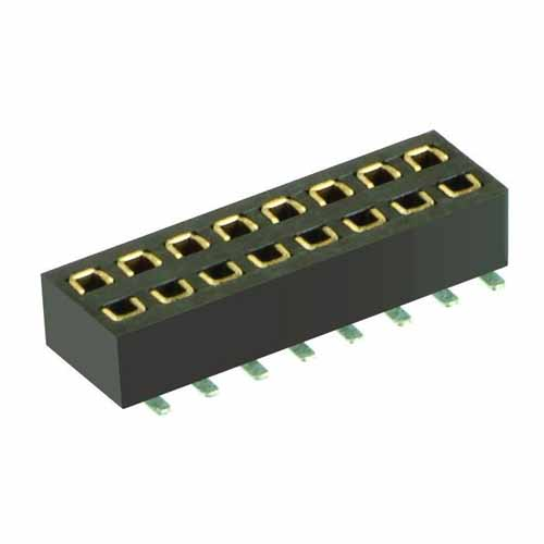 M50-3150842 - 8+8 Pos. Female DIL Vertical SMT Conn.
