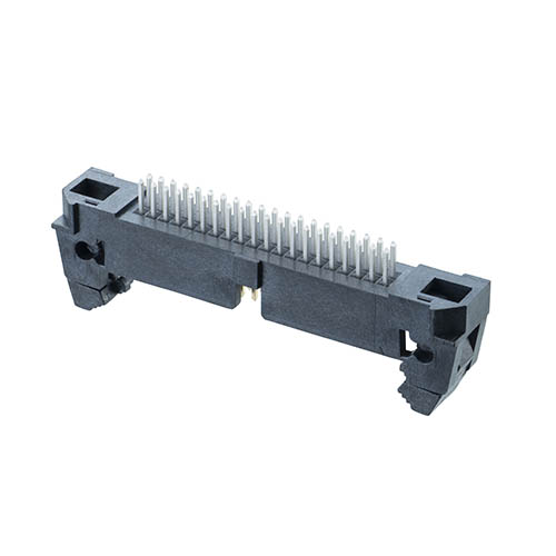 M50-3552042 - 20+20 Pos. Male DIL Vertical Throughboard Conn. with Ejector