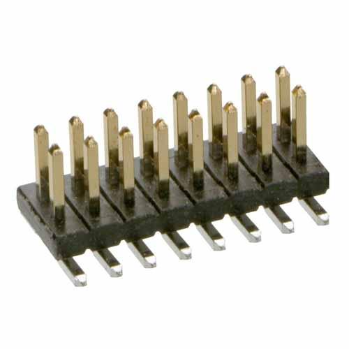 M50-3600842 - 8+8 Pos. Male DIL Vertical SMT Conn.
