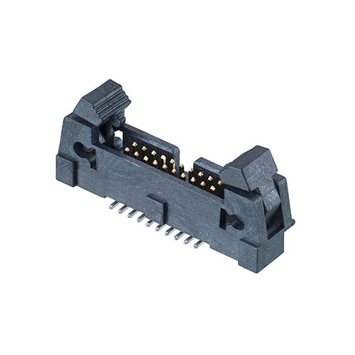 M50-3651042R - 10+10 Pos. Male DIL Vertical SMT Conn. with Ejector (T+R)
