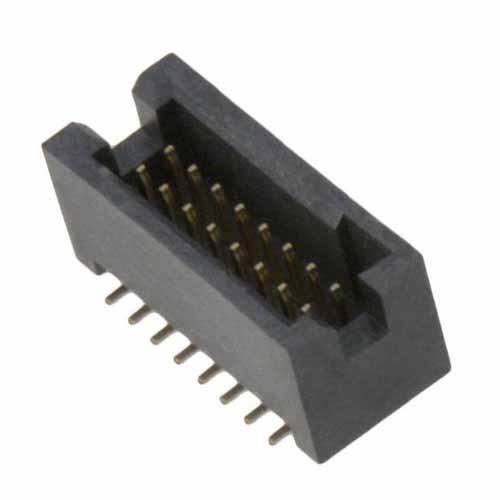 M50-4900845R - 8+8 Pos. Male DIL Vertical SMT Conn. (T+R)