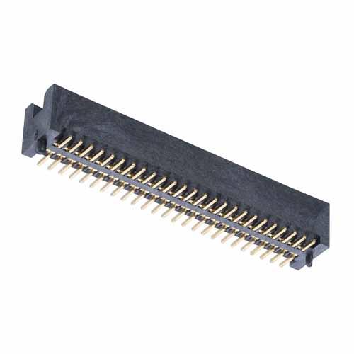 M50-4912545 - 25+25 Pos. Male DIL Vertical SMT Conn.