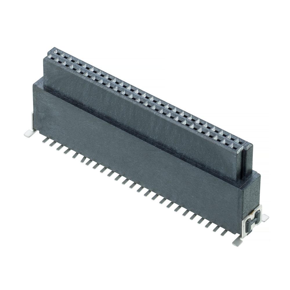 M55-6025042R - Archer Kontrol (1.27mm Pitch) DIL Vertical Socket SMT Connector