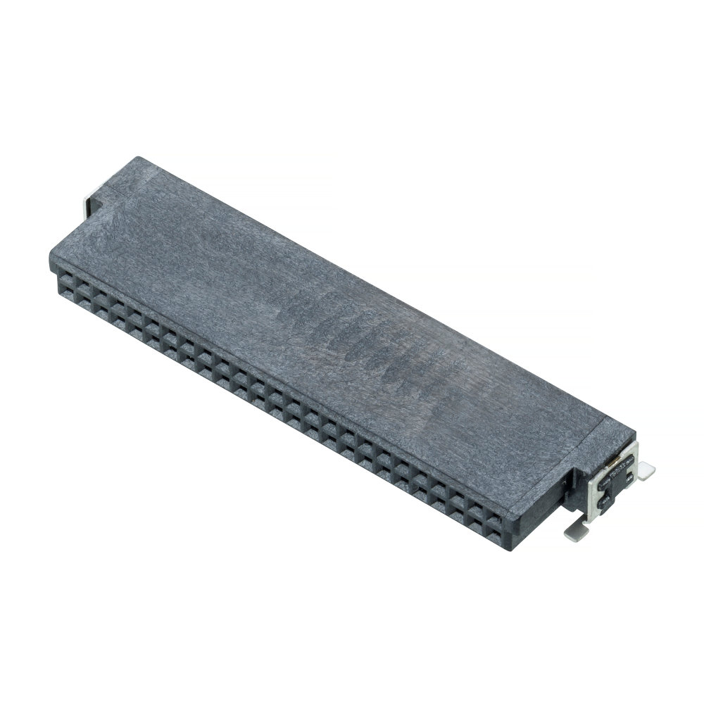 M55-6105042R - Archer Kontrol (1.27mm Pitch) DIL Horizontal Socket SMT Connector