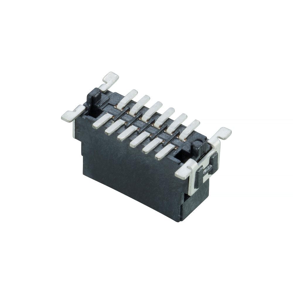 M55-7001242R - 6+6 Pos. Male DIL Vertical SMT Conn. (T+R)