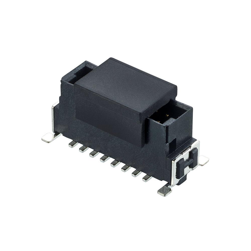 M55-7001642R - 8+8 Pos. Male DIL Vertical SMT Conn. (T+R)
