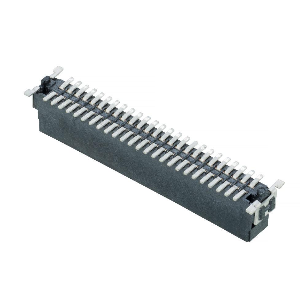 M55-7005042R - 25+25 Pos. Male DIL Vertical SMT Conn. (T+R)