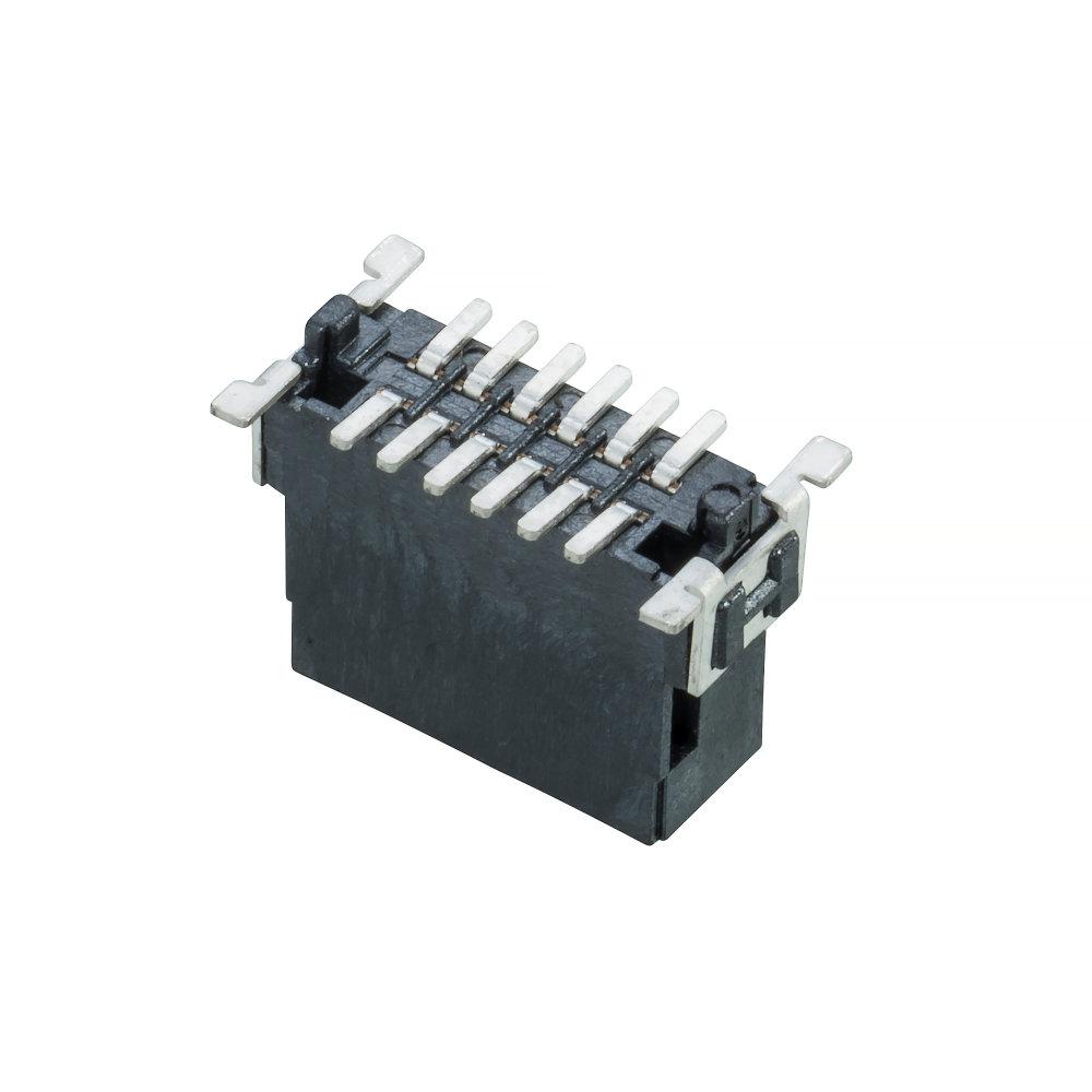 M55-7011242R - 6+6 Pos. Male DIL Vertical SMT Conn. (T+R)