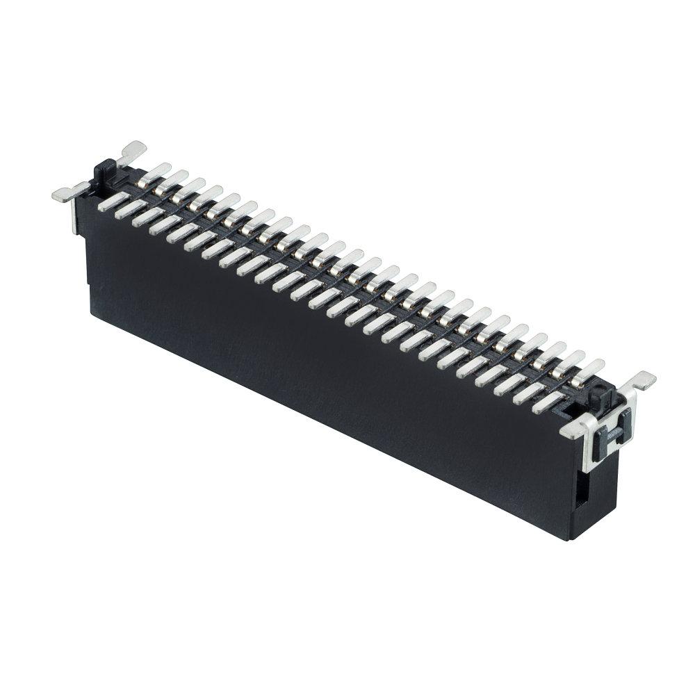 M55-7015042R - 25+25 Pos. Male DIL Vertical SMT Conn. (T+R)