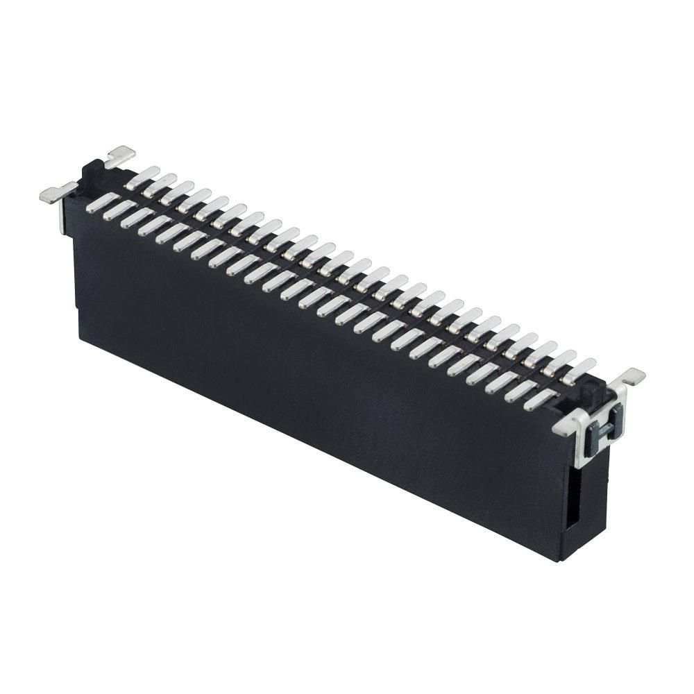 M55-7025042R - 25+25 Pos. Male DIL Vertical SMT Conn. (T+R)