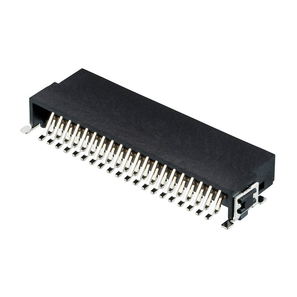 M55-7104042R - 20+20 Pos. Male DIL Horizontal SMT Conn. (T+R)