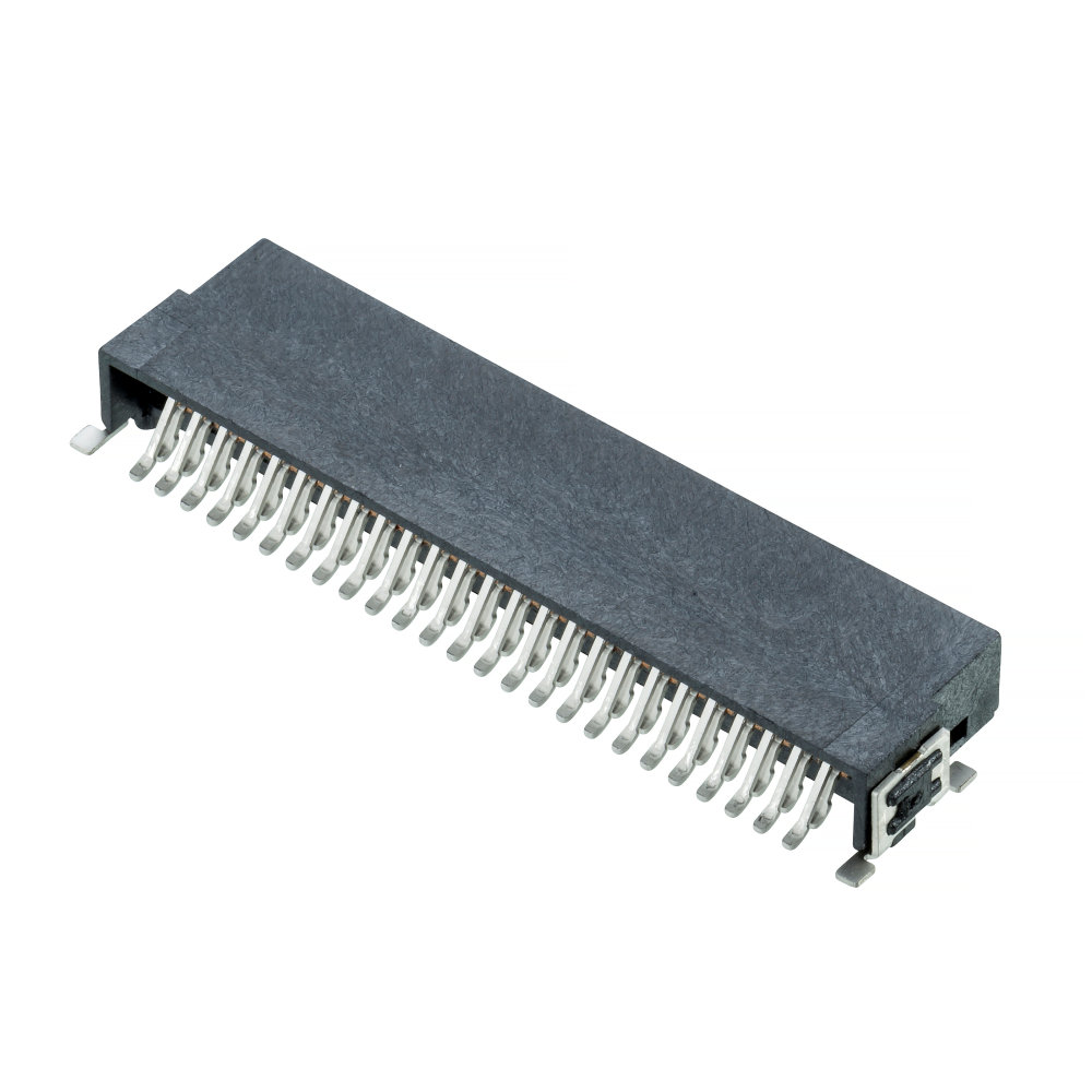 M55-7105042R - Archer Kontrol (1.27mm Pitch) DIL Horizontal Pin Header Throughboard Connector