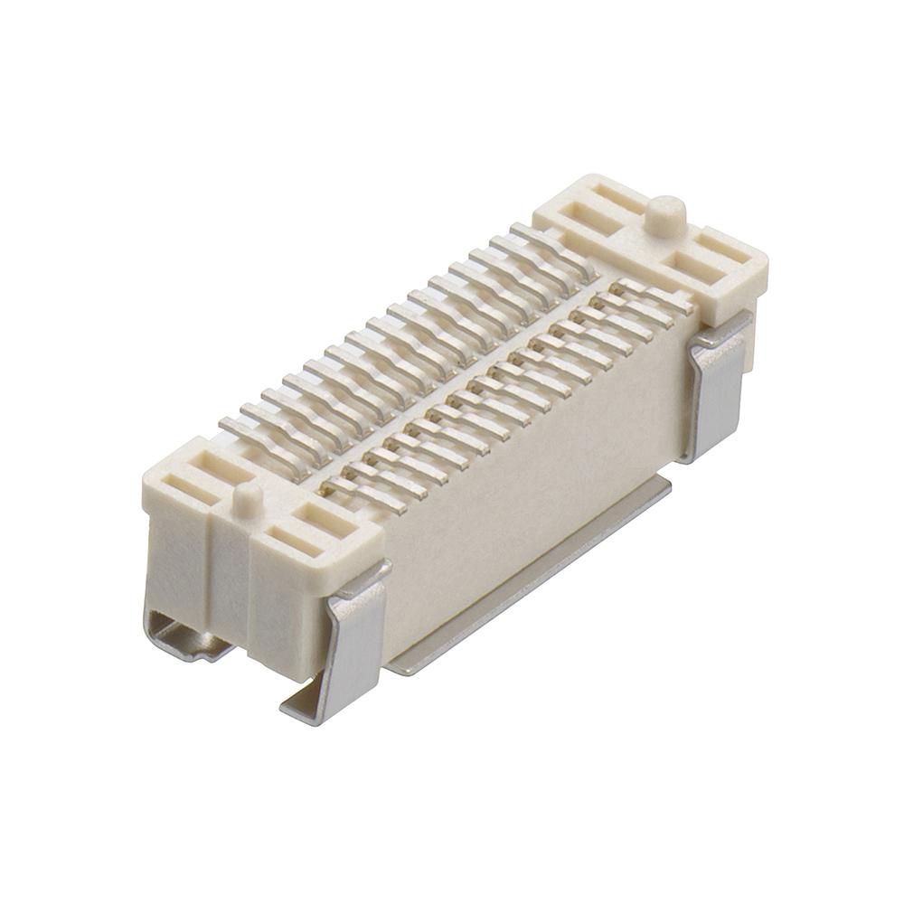 M58-3800342R - 30 Pos. Male DIL Vertical SMT Conn. (T+R)